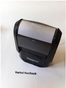 feedback stamp
